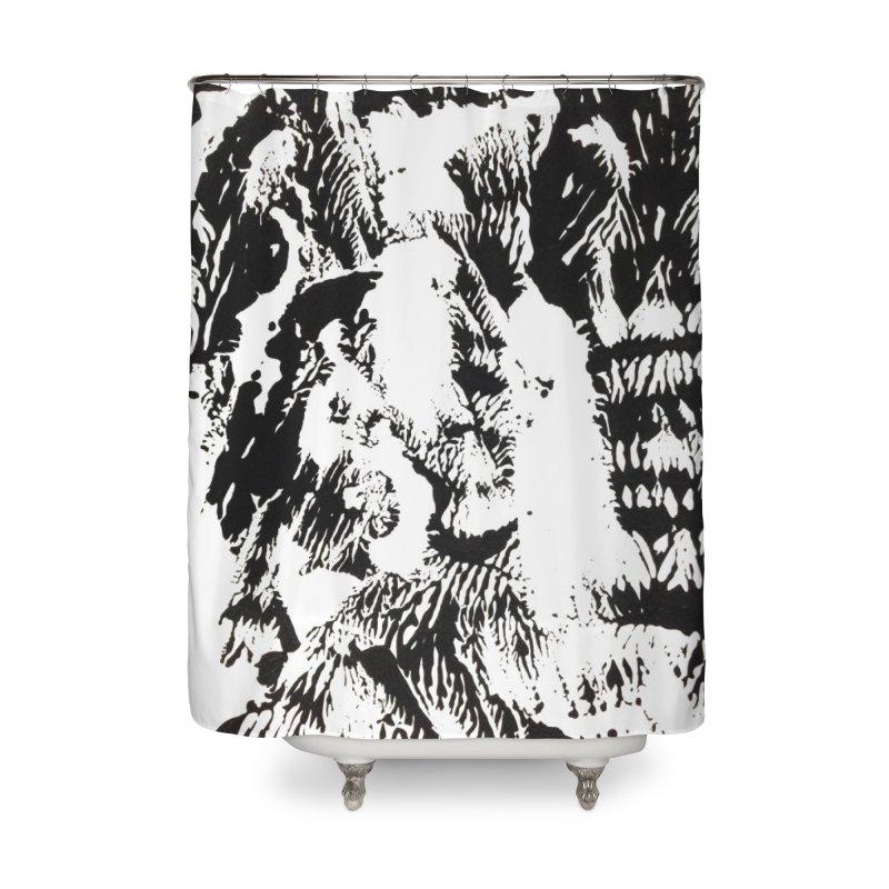 Mononoke Home Shower Curtain by kyon's Artist Shop
