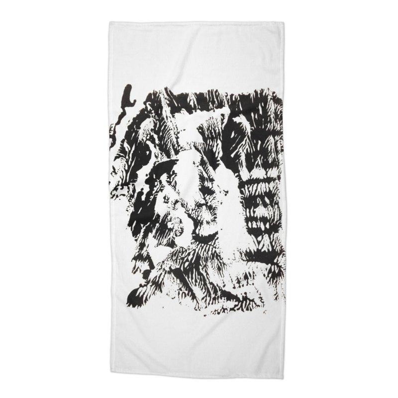 Mononoke Accessories Beach Towel by kyon's Artist Shop
