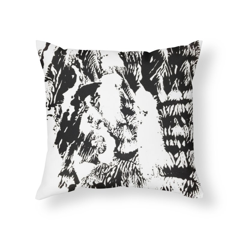 Mononoke Home Throw Pillow by kyon's Artist Shop