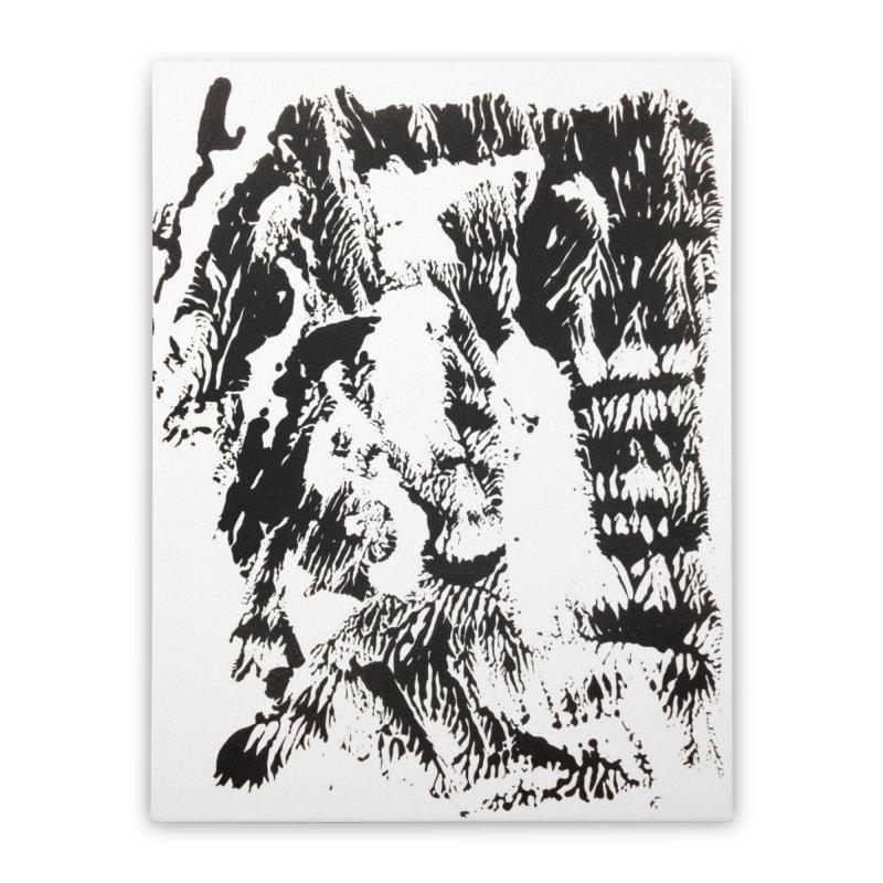 Mononoke Home Stretched Canvas by kyon's Artist Shop