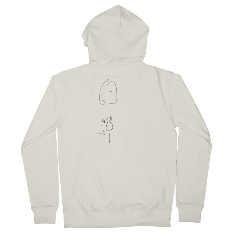 2 Women's French Terry Zip-Up Hoody by kyon's Artist Shop