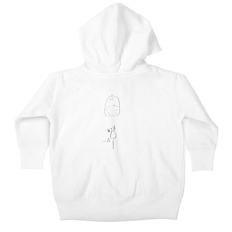 2 Kids Baby Zip-Up Hoody by kyon's Artist Shop