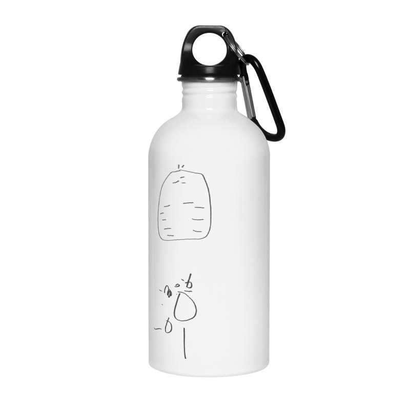 2 Accessories Water Bottle by kyon's Artist Shop