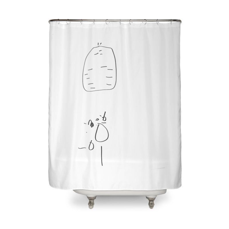 2 Home Shower Curtain by kyon's Artist Shop