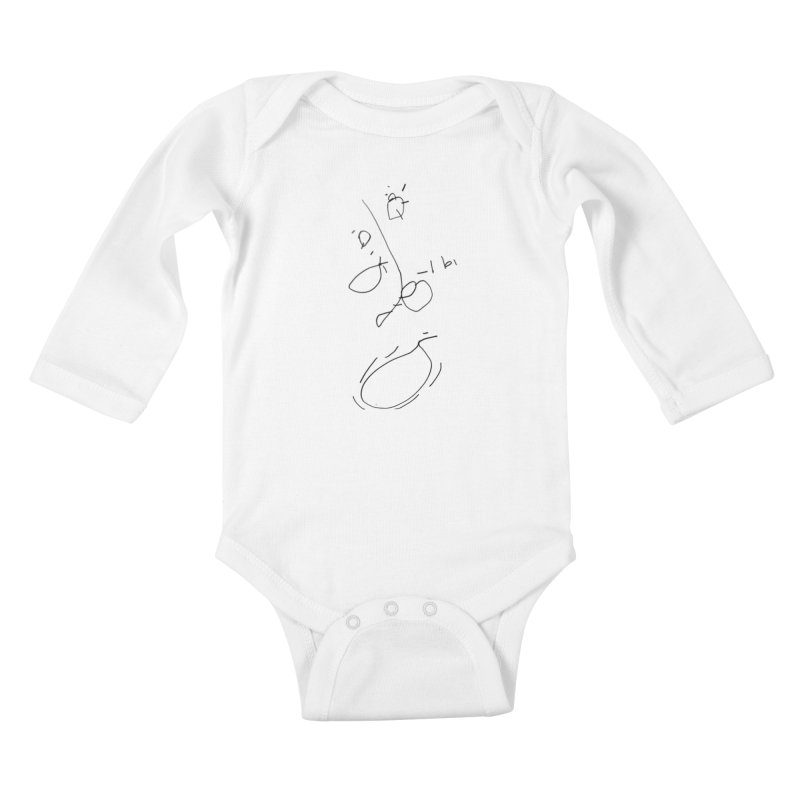 3 Kids Baby Longsleeve Bodysuit by kyon's Artist Shop