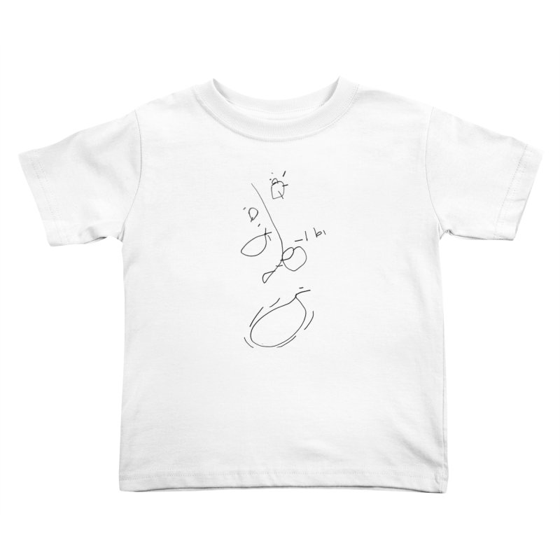 3 Kids Toddler T-Shirt by kyon's Artist Shop