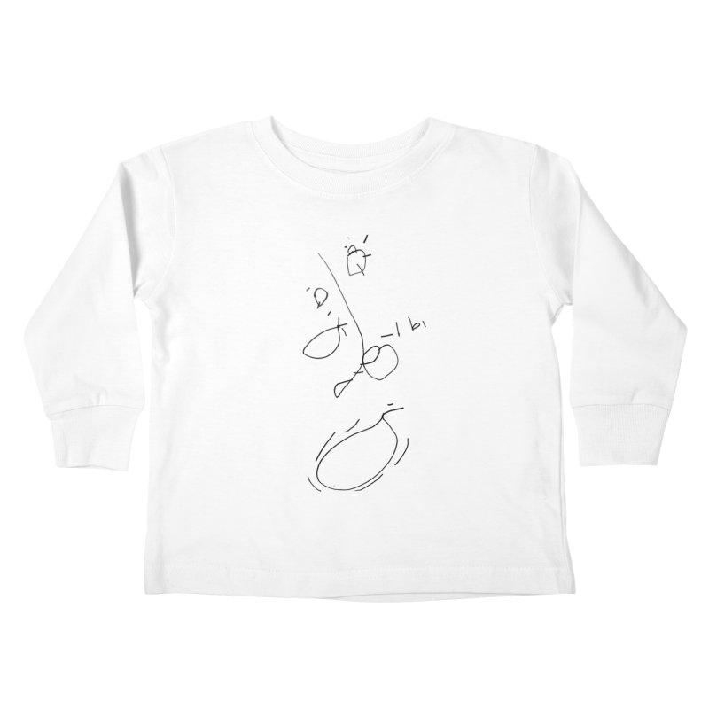 3 Kids Toddler Longsleeve T-Shirt by kyon's Artist Shop