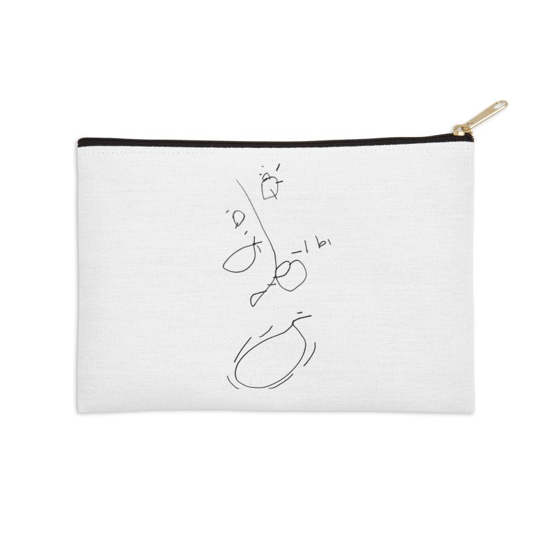 3 Accessories Zip Pouch by kyon's Artist Shop