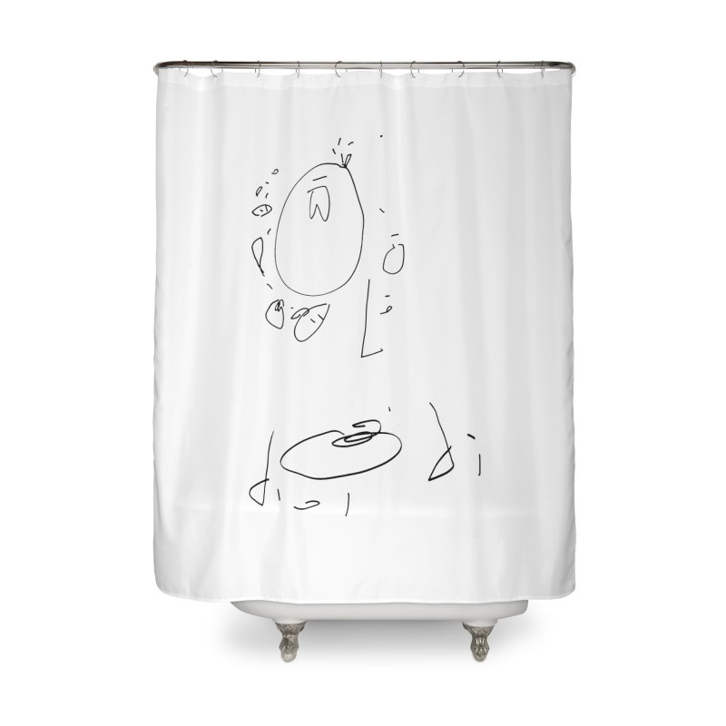 4 Home Shower Curtain by kyon's Artist Shop