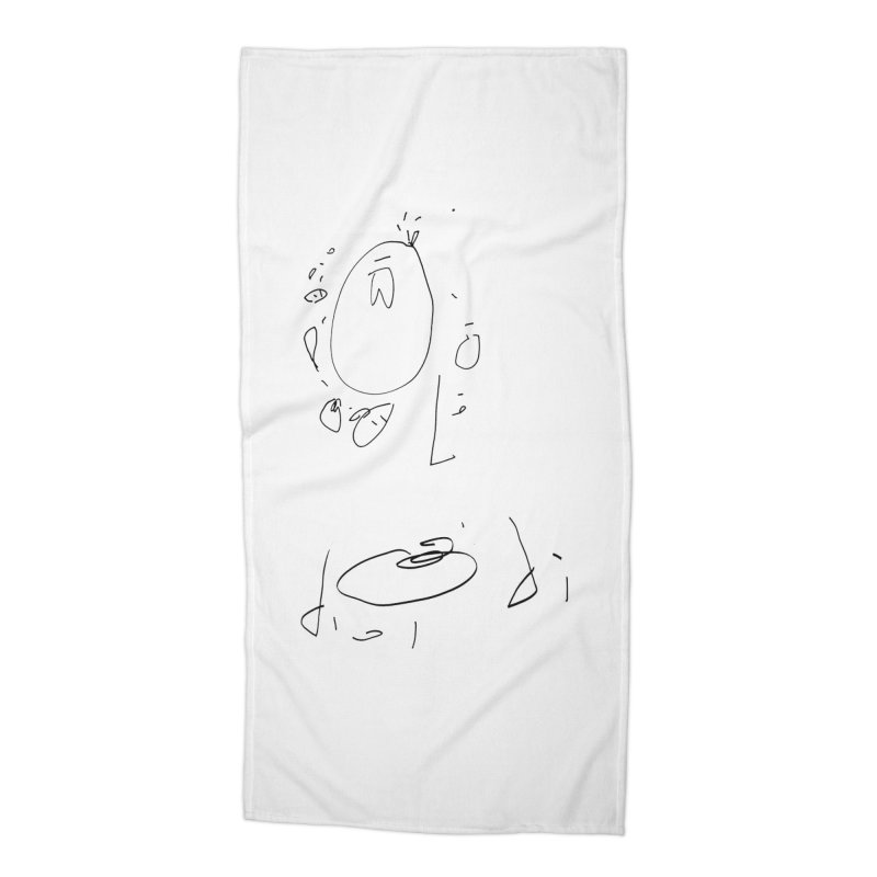 4 Accessories Beach Towel by kyon's Artist Shop