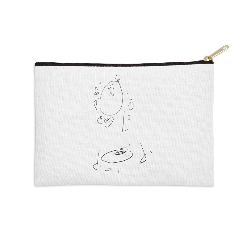 4 Accessories Zip Pouch by kyon's Artist Shop