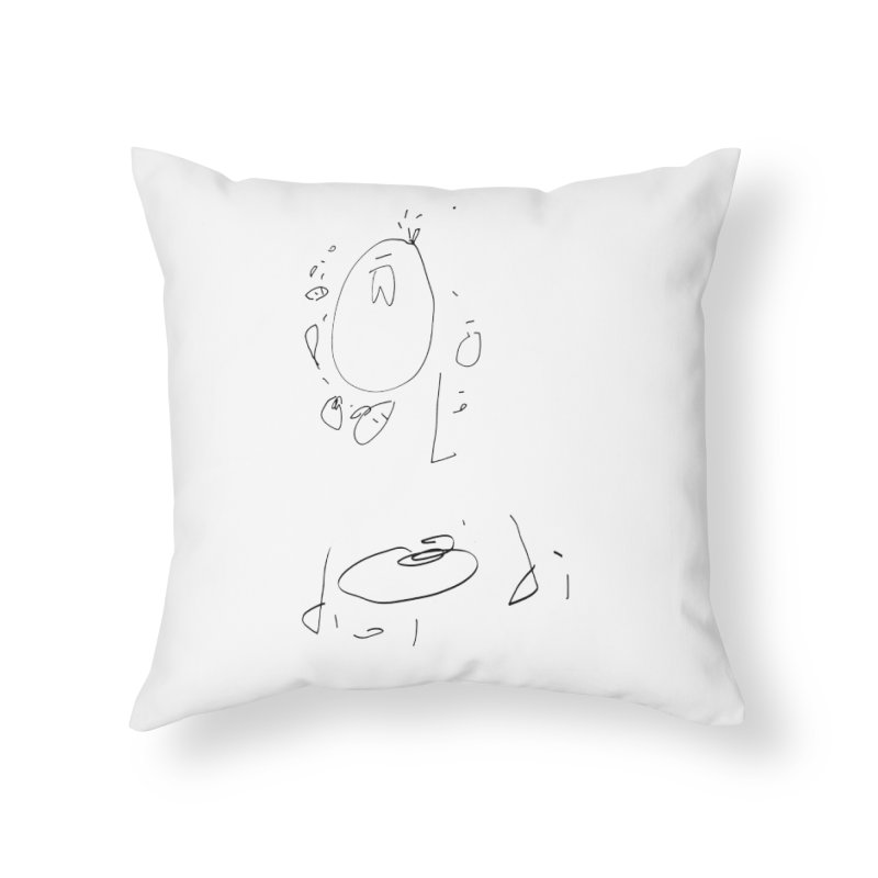 4 Home Throw Pillow by kyon's Artist Shop
