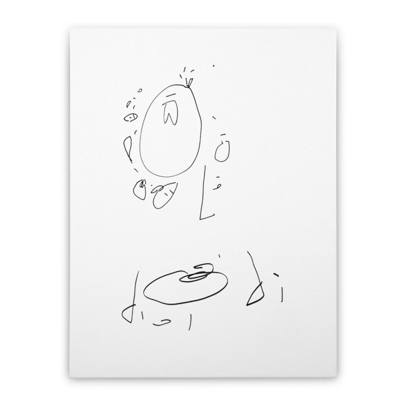 4 Home Stretched Canvas by kyon's Artist Shop