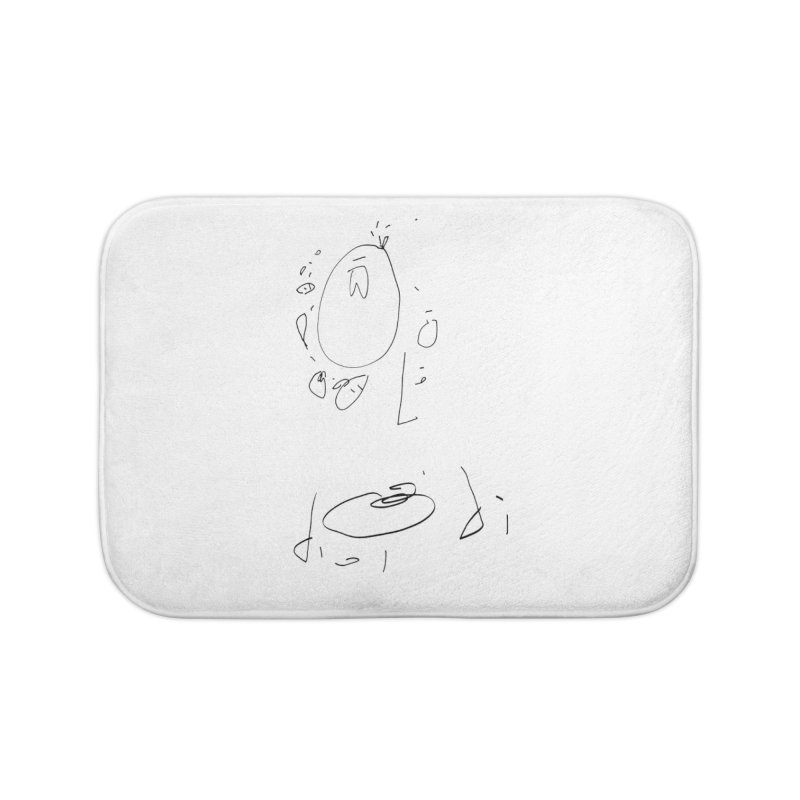 4 Home Bath Mat by kyon's Artist Shop