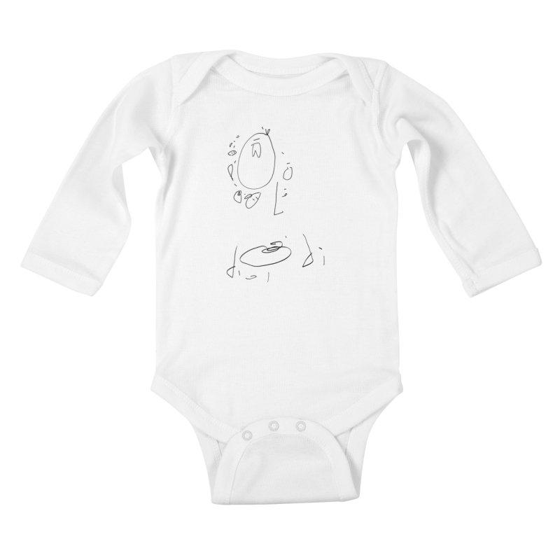 4 Kids Baby Longsleeve Bodysuit by kyon's Artist Shop