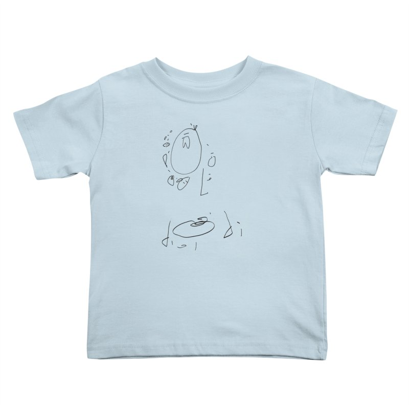 4 Kids Toddler T-Shirt by kyon's Artist Shop