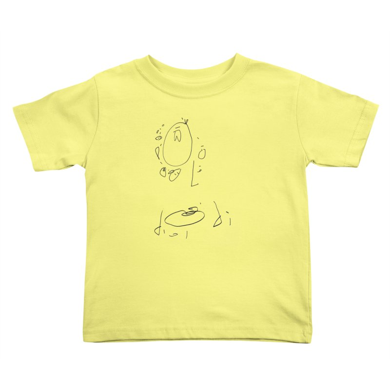 4 Kids Toddler T-Shirt by kyon's Artist Shop