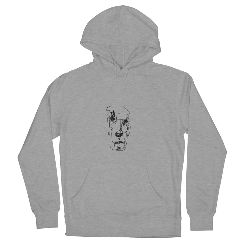 Face 2 Men's French Terry Pullover Hoody by kyon's Artist Shop