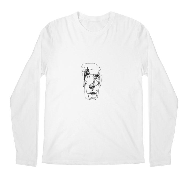 Face 2 Men's Regular Longsleeve T-Shirt by kyon's Artist Shop
