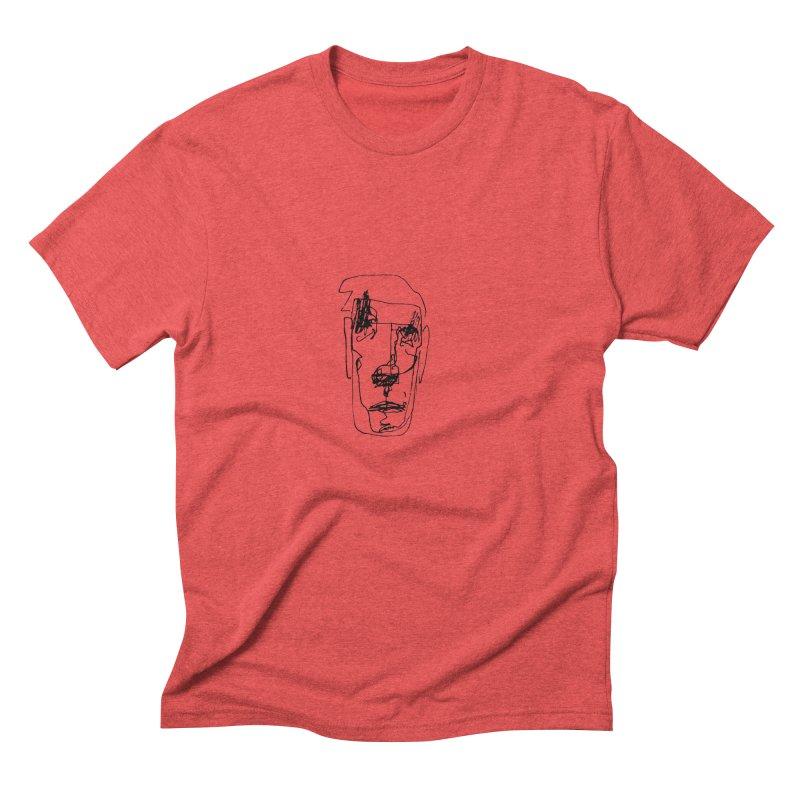 Face 2 Men's Triblend T-Shirt by kyon's Artist Shop