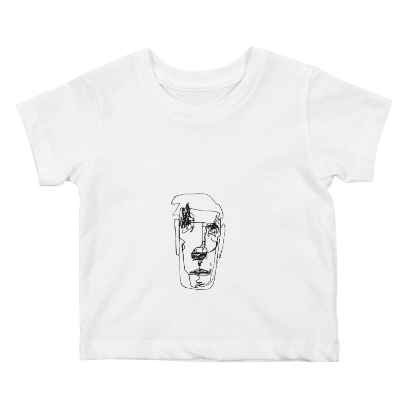 Face 2 Kids Baby T-Shirt by kyon's Artist Shop