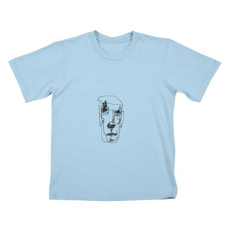Face 2 Kids T-Shirt by kyon's Artist Shop