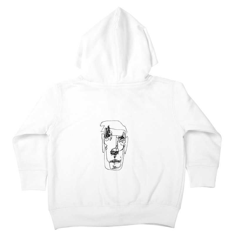 Face 2 Kids Toddler Zip-Up Hoody by kyon's Artist Shop