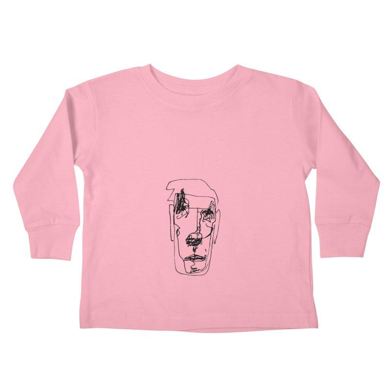 Face 2 Kids Toddler Longsleeve T-Shirt by kyon's Artist Shop