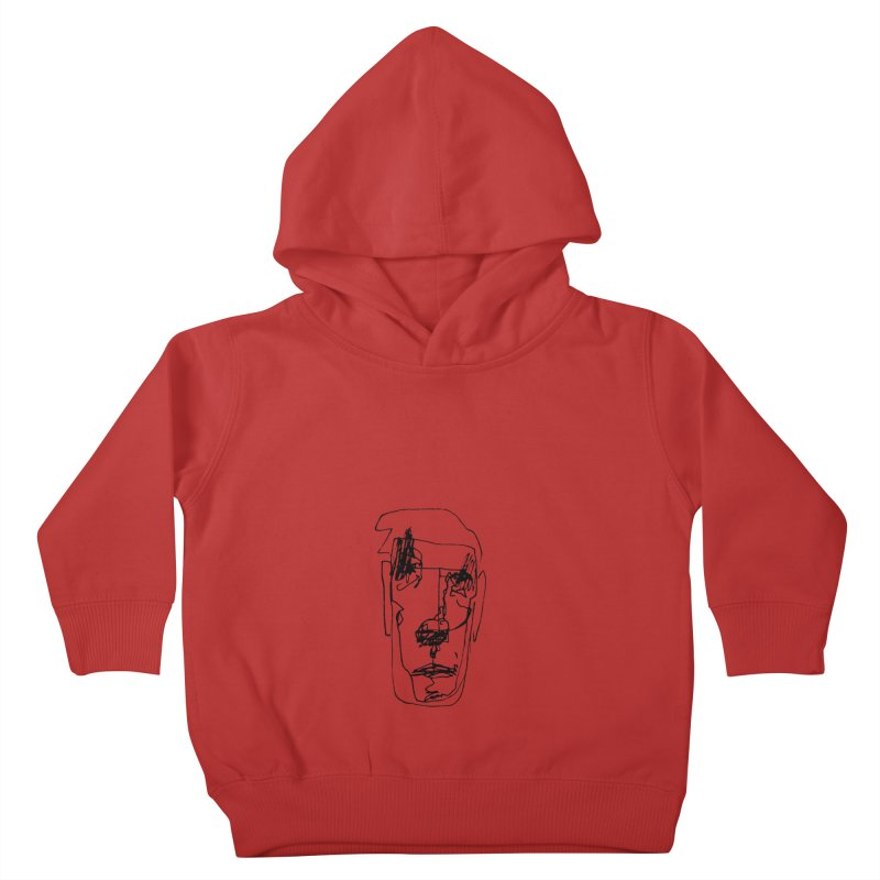 Face 2 Kids Toddler Pullover Hoody by kyon's Artist Shop