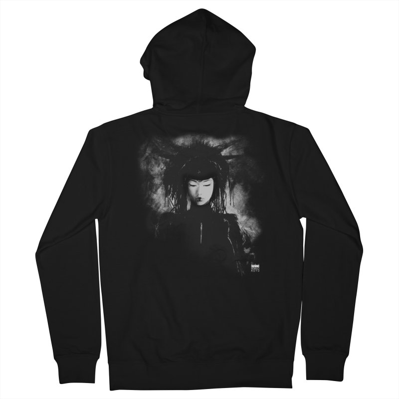 Romulo Royo - Goddesses of Nibiru Men's French Terry Zip-Up Hoody by Laberinto Gris