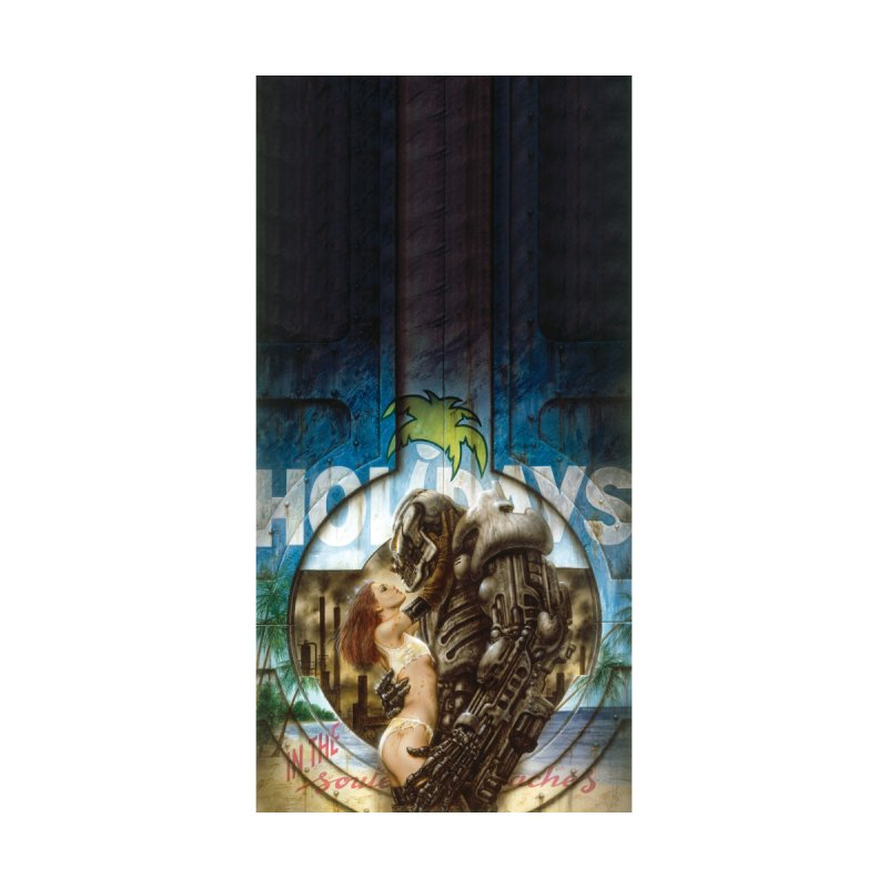 Luis Royo - Holidays on the beach Accessories Beach Towel by Laberinto Gris