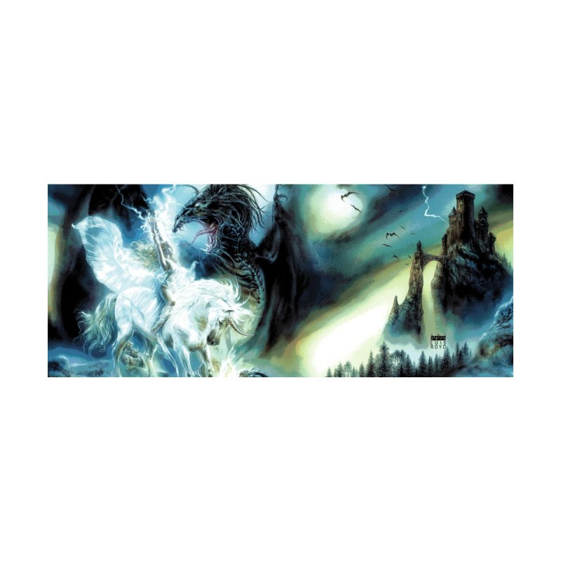 Luis Royo - The Fantasy Dragon and Unicorn Accessories Mug by Laberinto Gris