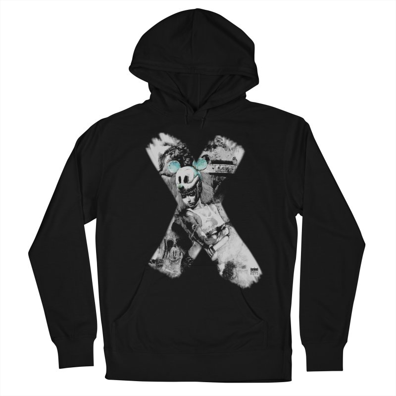 Romulo Royo - Mickey Mouse Exists Men's French Terry Pullover Hoody by Laberinto Gris