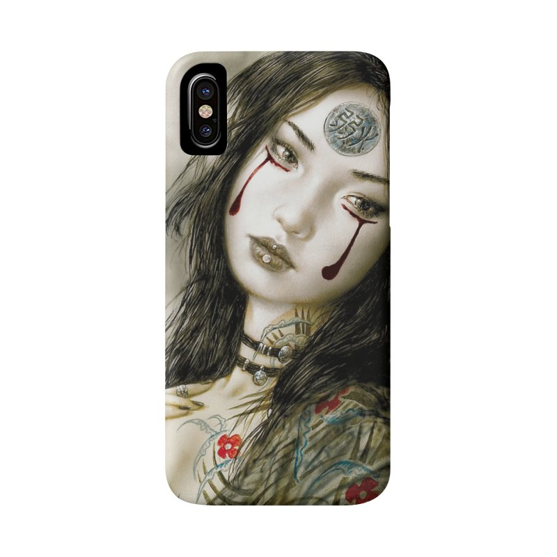 Luis Royo - Phone Case Accessories Phone Case by Laberinto Gris