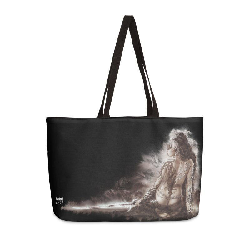 Luis Royo - The Five faces of Hecate Accessories Weekender Bag Bag by Laberinto Gris