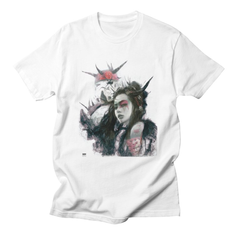 Romulo Royo - I love bam! in Men's Regular T-Shirt White by Laberinto Gris