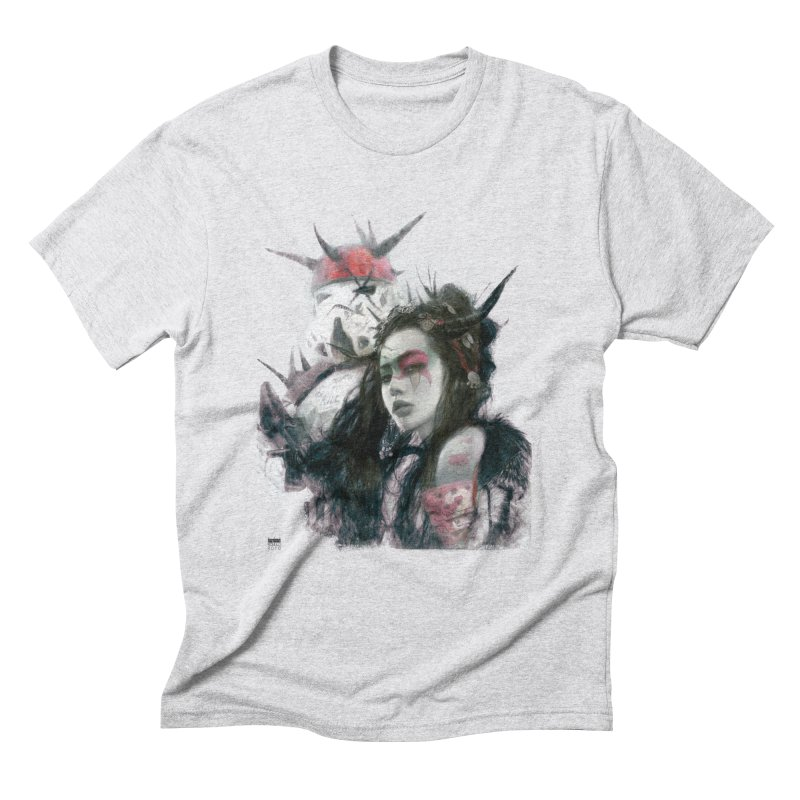 Romulo Royo - I love bam! Men's Triblend T-Shirt by Laberinto Gris