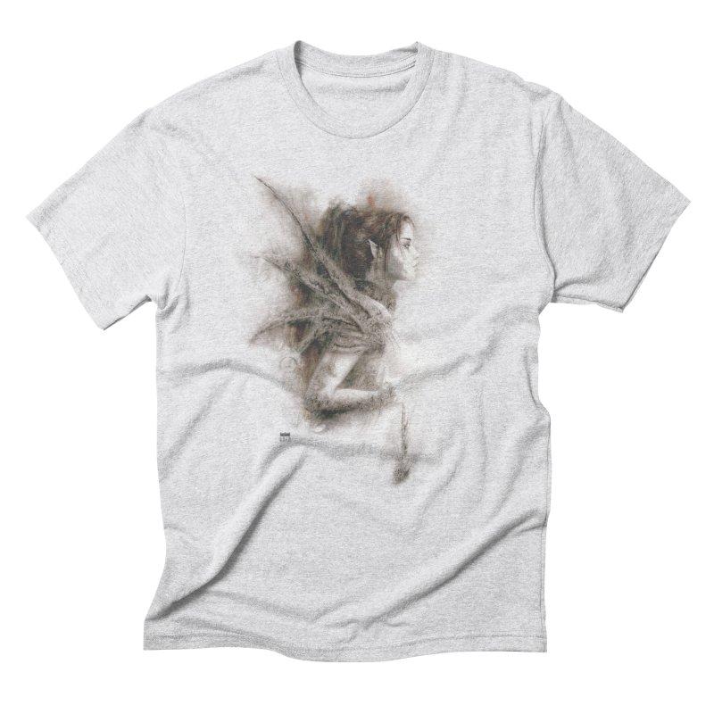 Luis Royo - Fairy Fantasy Men's Triblend T-Shirt by Laberinto Gris