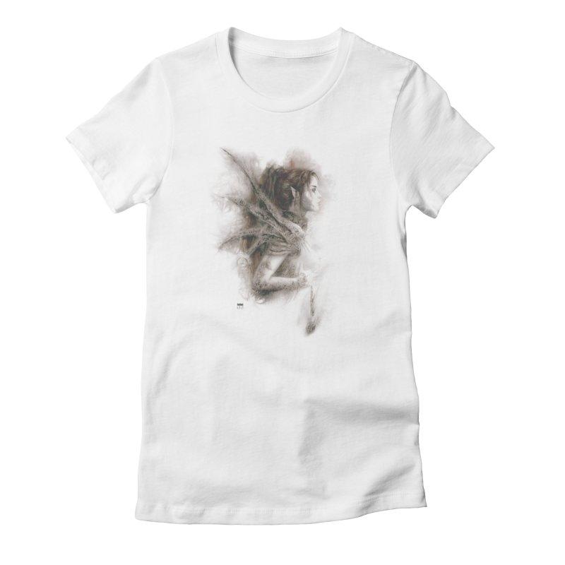 Luis Royo - Fairy Fantasy Women's T-Shirt by Laberinto Gris