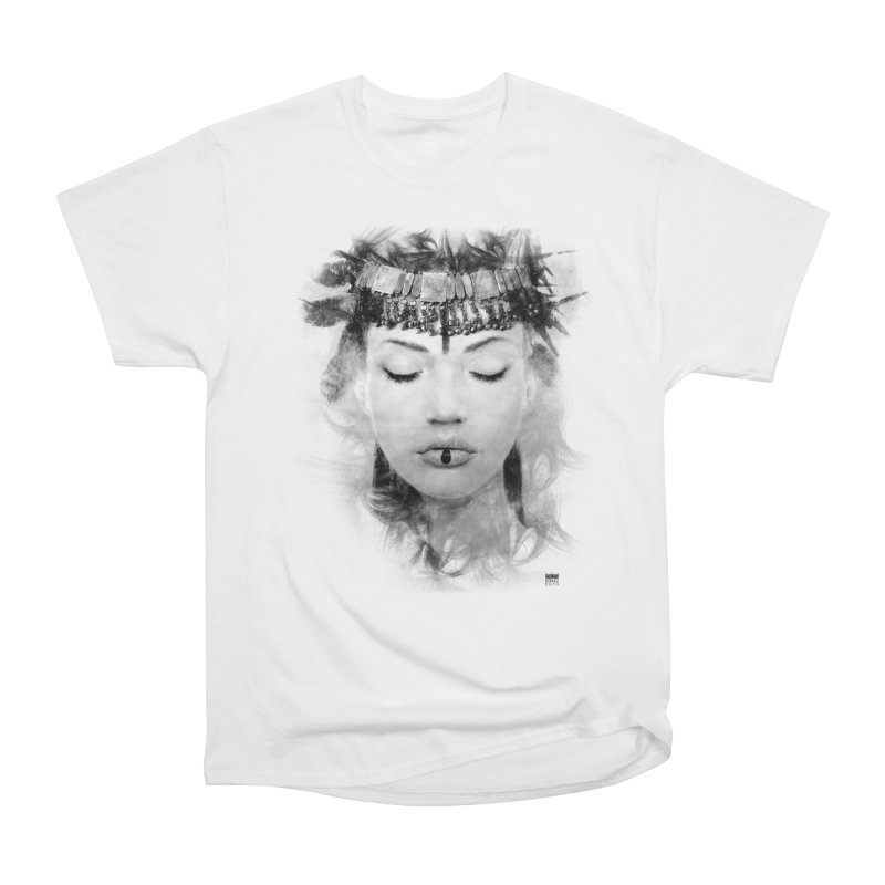 Romulo Royo - Goddesses of Nibiru Women's Heavyweight Unisex T-Shirt by Laberinto Gris