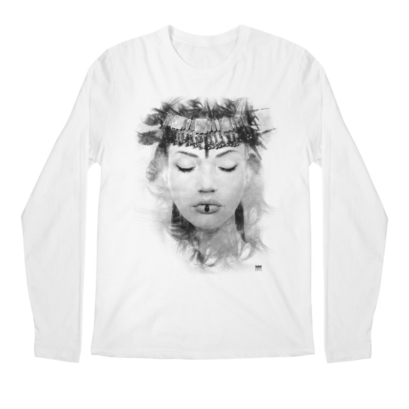 Romulo Royo - Goddesses of Nibiru Men's Regular Longsleeve T-Shirt by Laberinto Gris