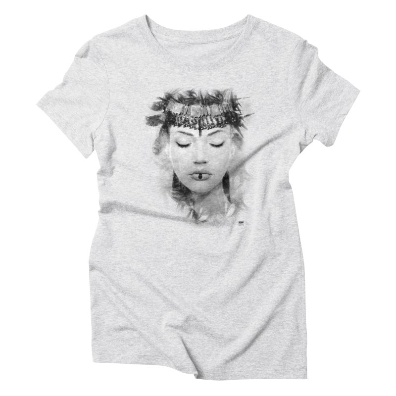 Romulo Royo - Goddesses of Nibiru Women's Triblend T-Shirt by Laberinto Gris