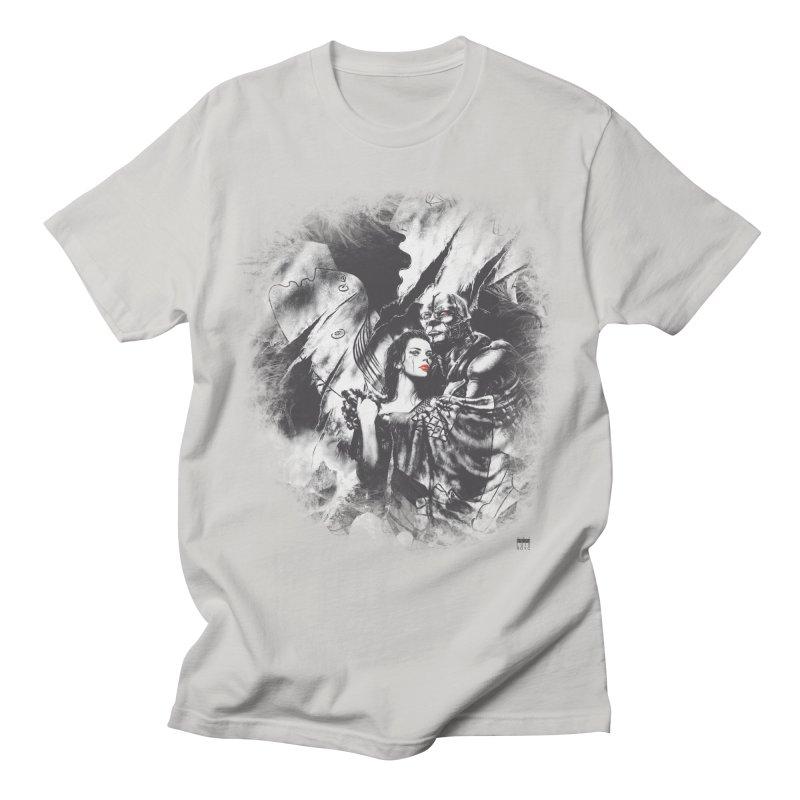 Luis Royo - Grey Over Greyer Grey Men's T-Shirt by Laberinto Gris