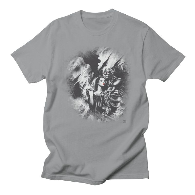Luis Royo - Grey Over Greyer Grey Women's Regular Unisex T-Shirt by Laberinto Gris