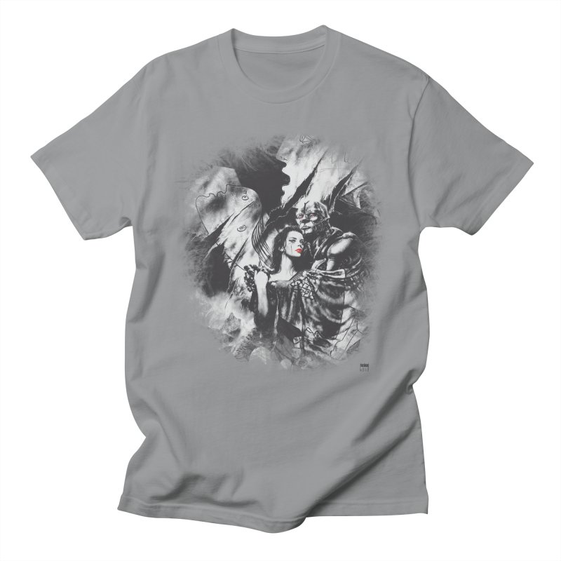 Luis Royo - Grey Over Greyer Grey Women's Regular Unisex T-Shirt by Laberinto Gris