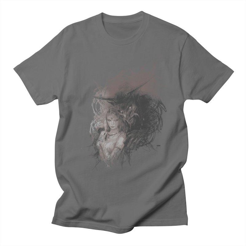 Luis Royo - New Secrets Men's T-Shirt by Laberinto Gris
