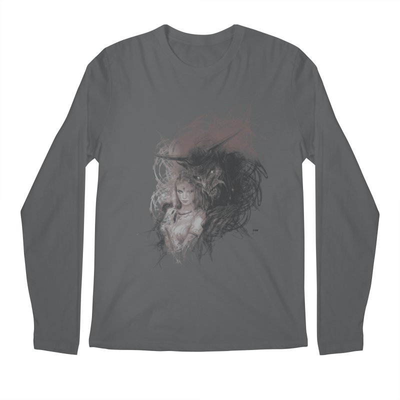 Luis Royo - New Secrets Men's Regular Longsleeve T-Shirt by Laberinto Gris