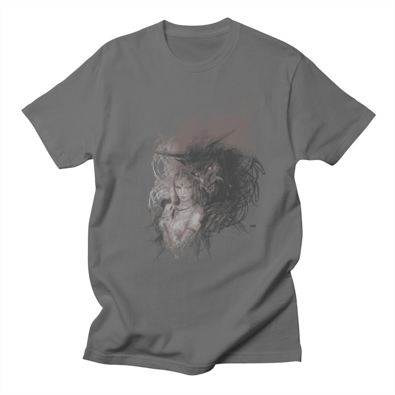 Luis Royo - New Secrets Men's T-Shirt by Laberinto Gris