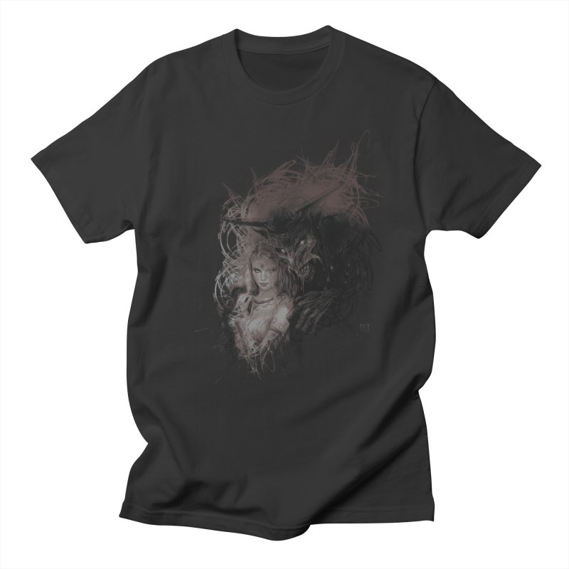 Luis Royo - New Secrets Men's Regular T-Shirt by Laberinto Gris