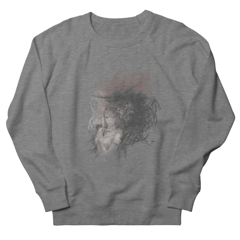 Luis Royo - New Secrets Women's French Terry Sweatshirt by Laberinto Gris